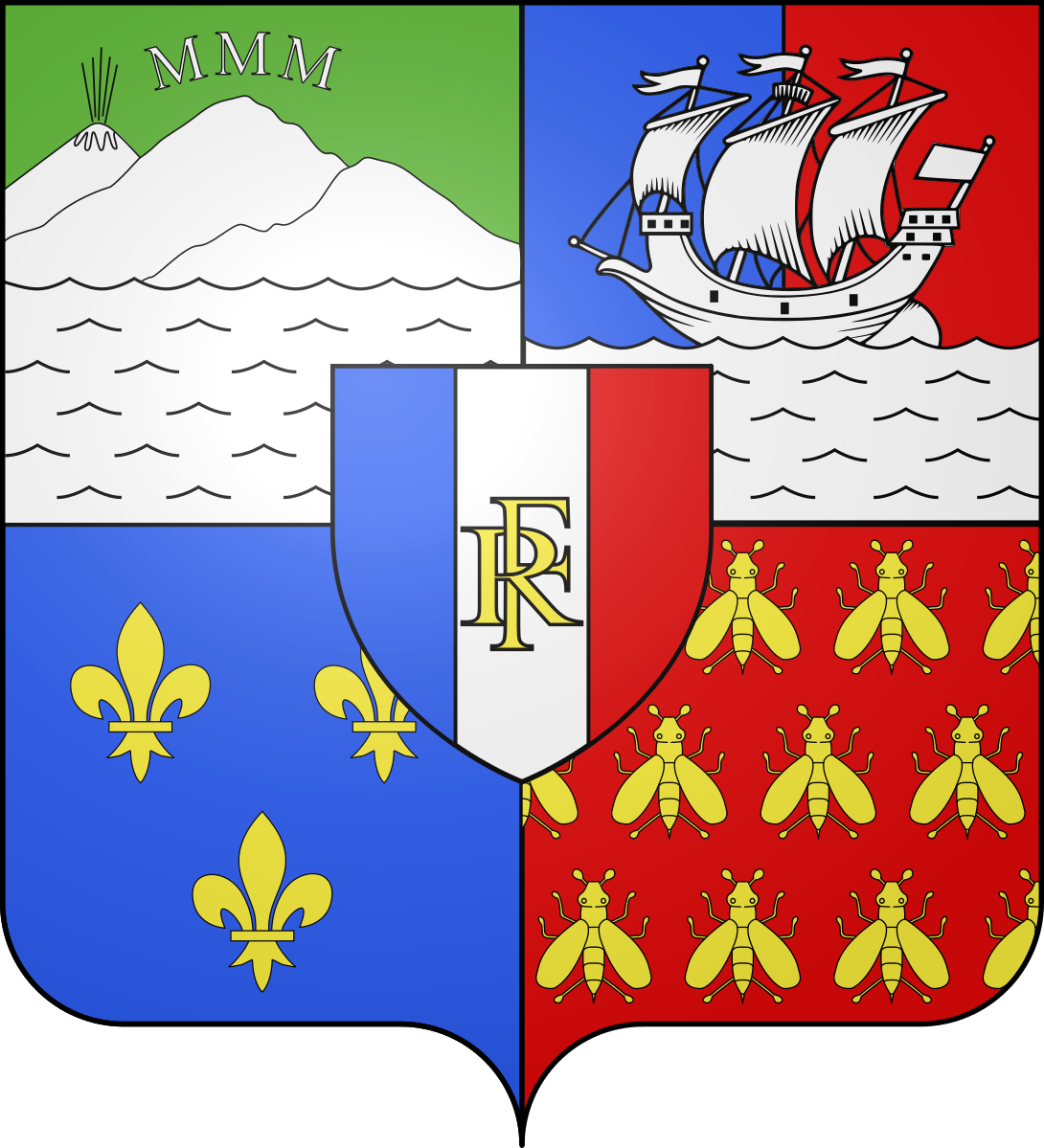 Blason-Réunion-compagnie-des-indes