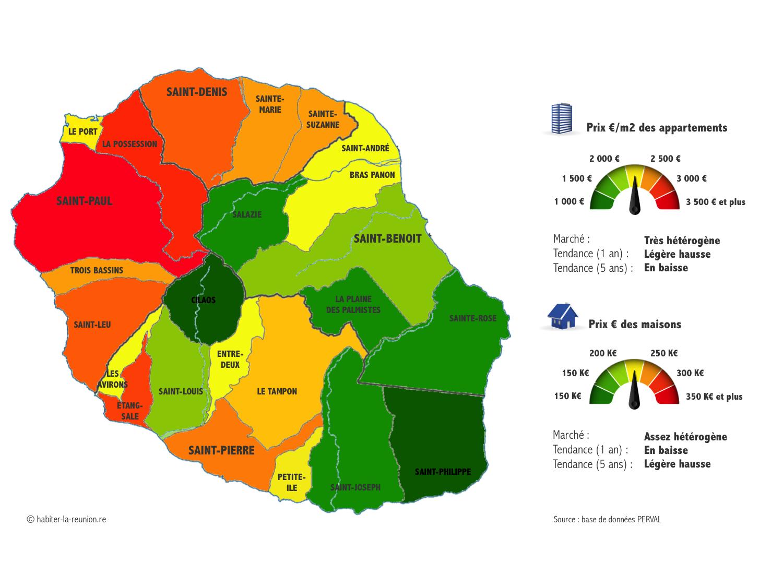 Carte-prix-immobilier-La-Réunion-2017