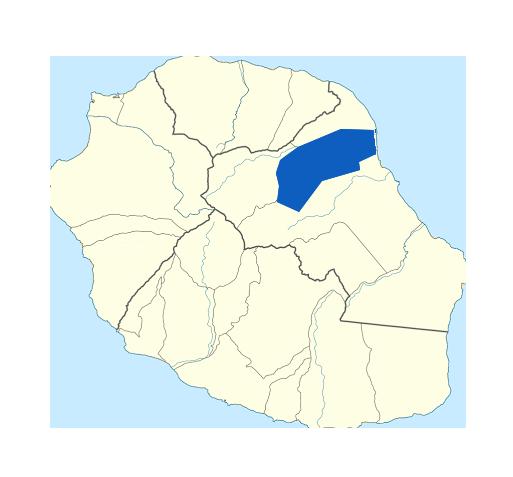 Carte Bras-Panon Réunion