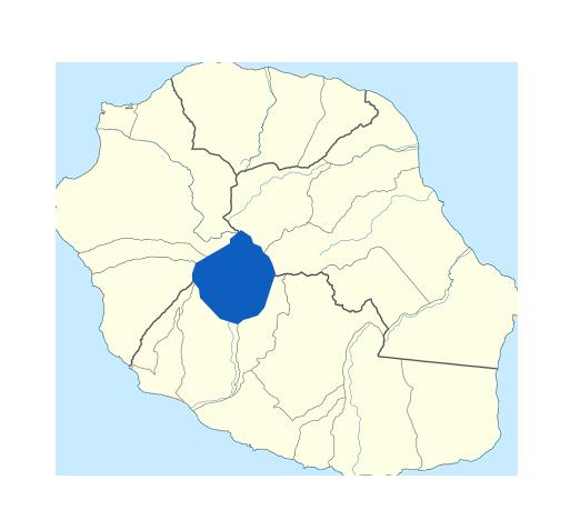 Carte Cilaos Réunion