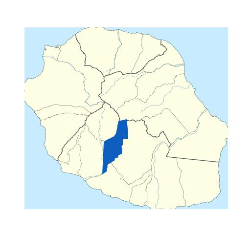Carte Entre-Deux Réunion
