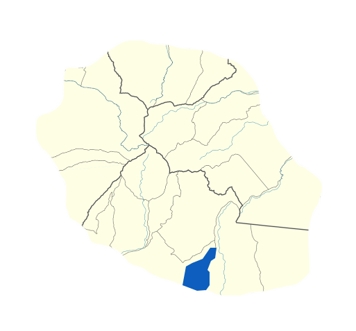 Carte Petite-Ile Réunion