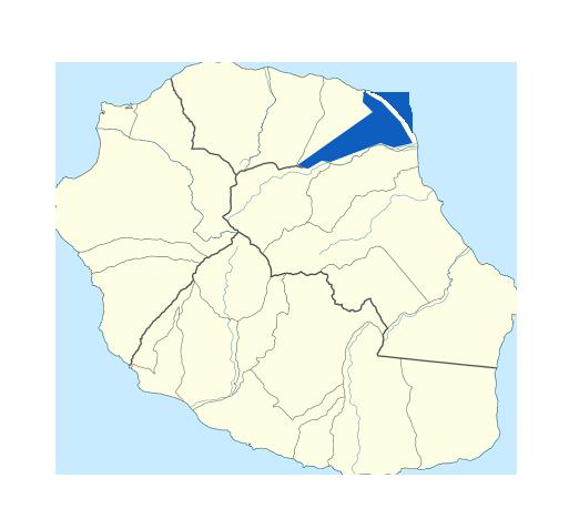 Carte Saint-André Réunion