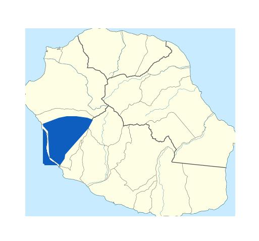 Carte Saint-Leu Réunion