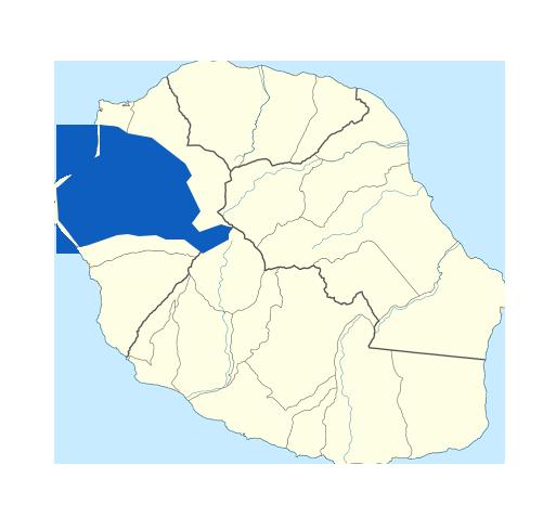 Carte Saint-Paul Réunion