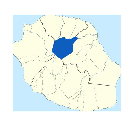 Carte de Salazie Réunion