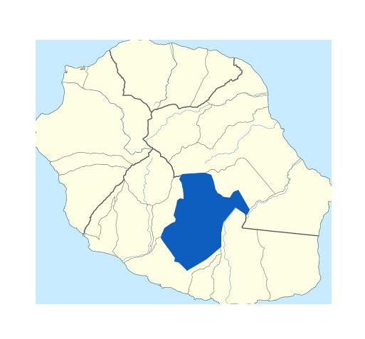 Carte Le Tampon Réunion