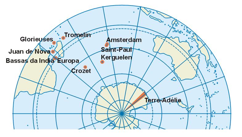 Cartes des TAAF et Iles Eparses