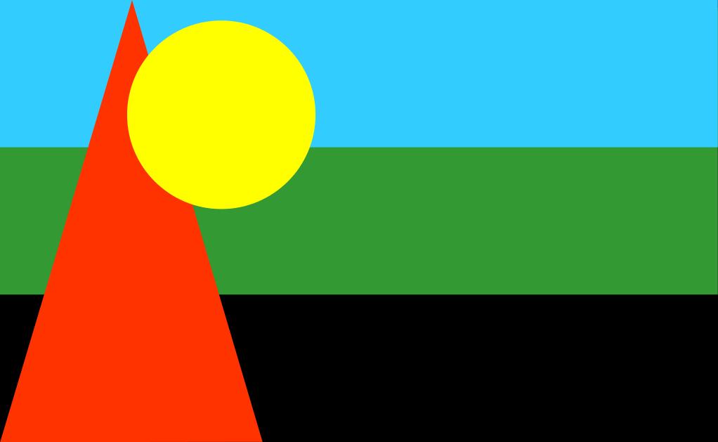 Le drapeau culturel du MLK