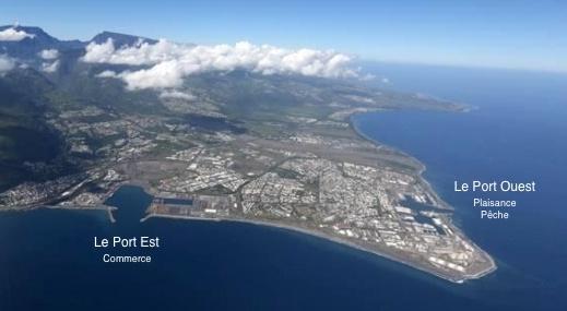 Le projet d 39 extension du port de la r union habiter la for Chambre de commerce ile de la reunion