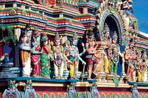 Temple tamoul Réunion