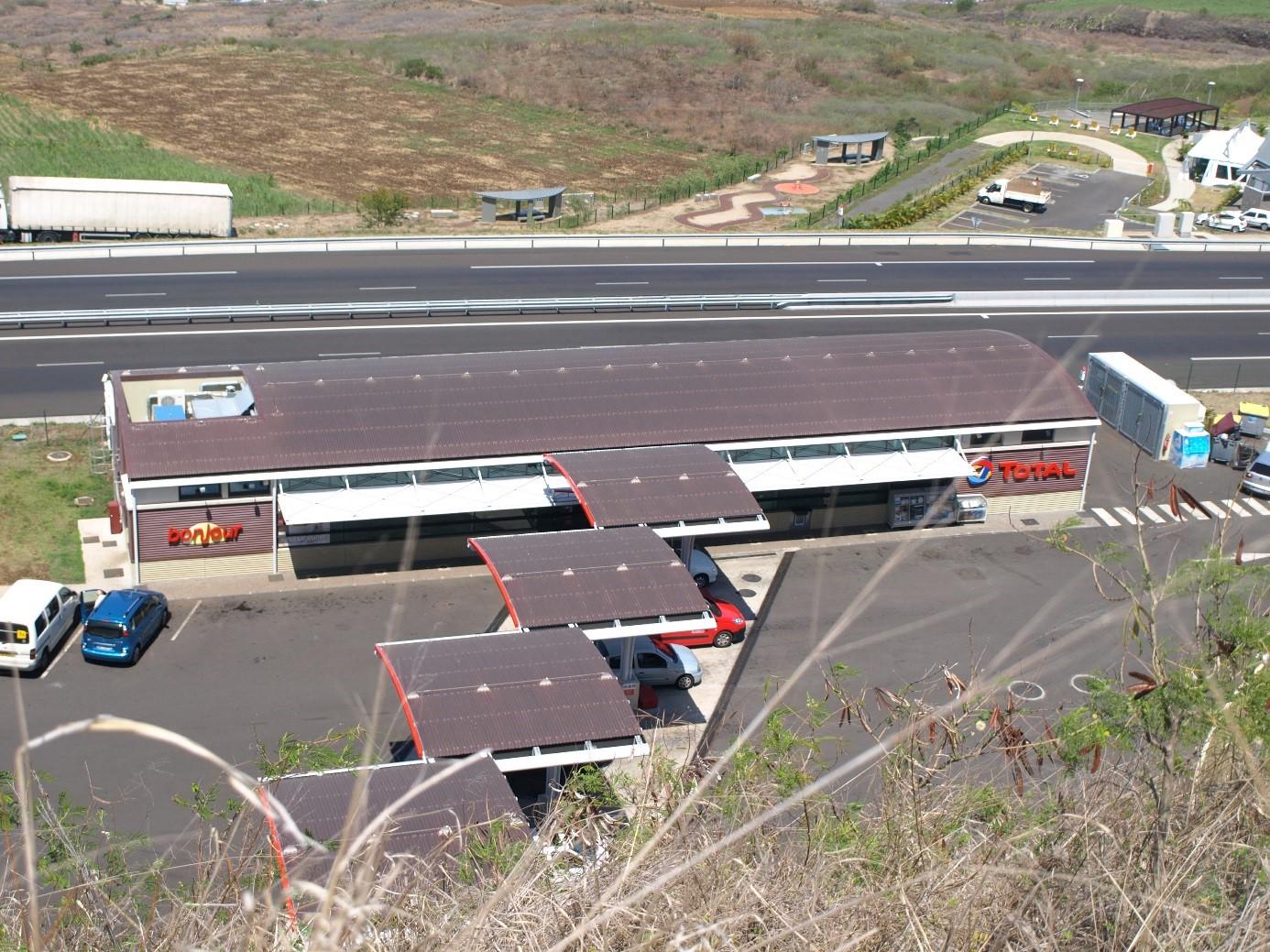 Stations services à La Réunion