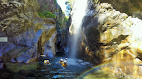 Canyoning-rivière-sainte-suzanne