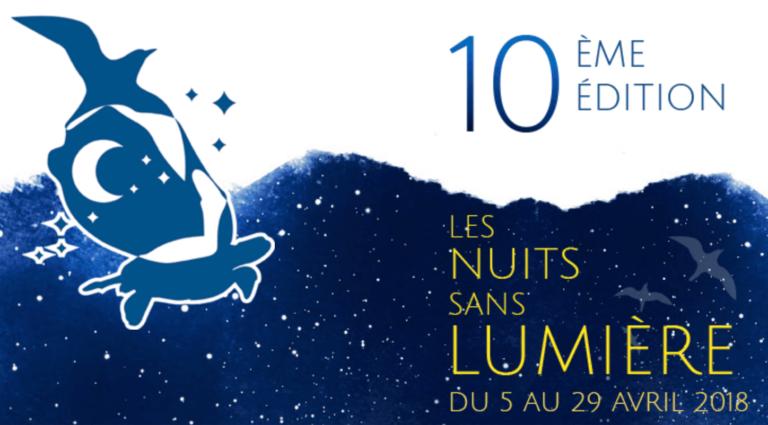 Les Nuits sans Lumière 2018 du 5 au 29 avril