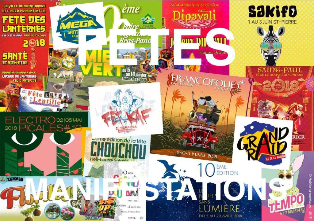 Affiches-fêtes-manifestations-Réunion-2018-trouver