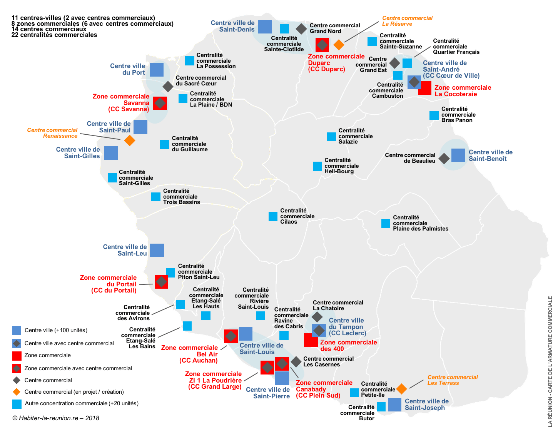 Carte-armature-commerciale-centres-commerciaux-La-Réunion