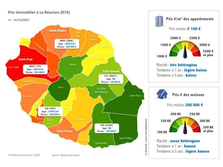 Carte-prix-immobilier-Réunion-31122017