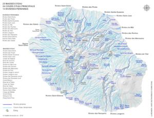 Carte-rivières-cours-d-eau-La-Réunion