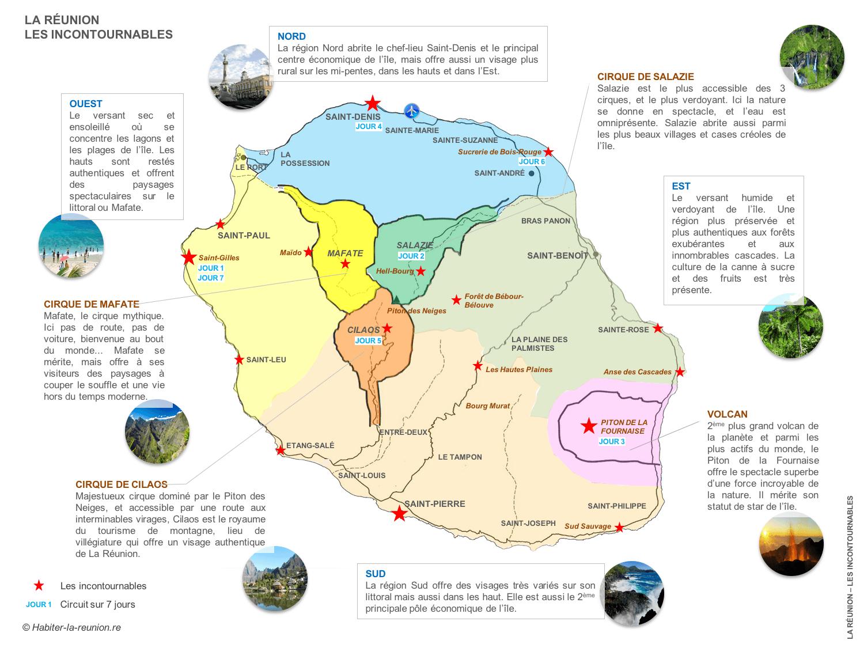 Cartes De La Réunion Habiter La Réunion