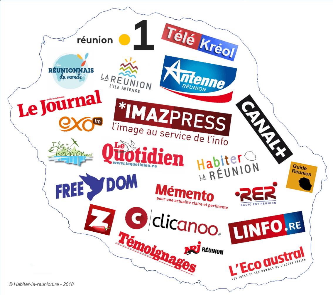 Les médias à La Réunion