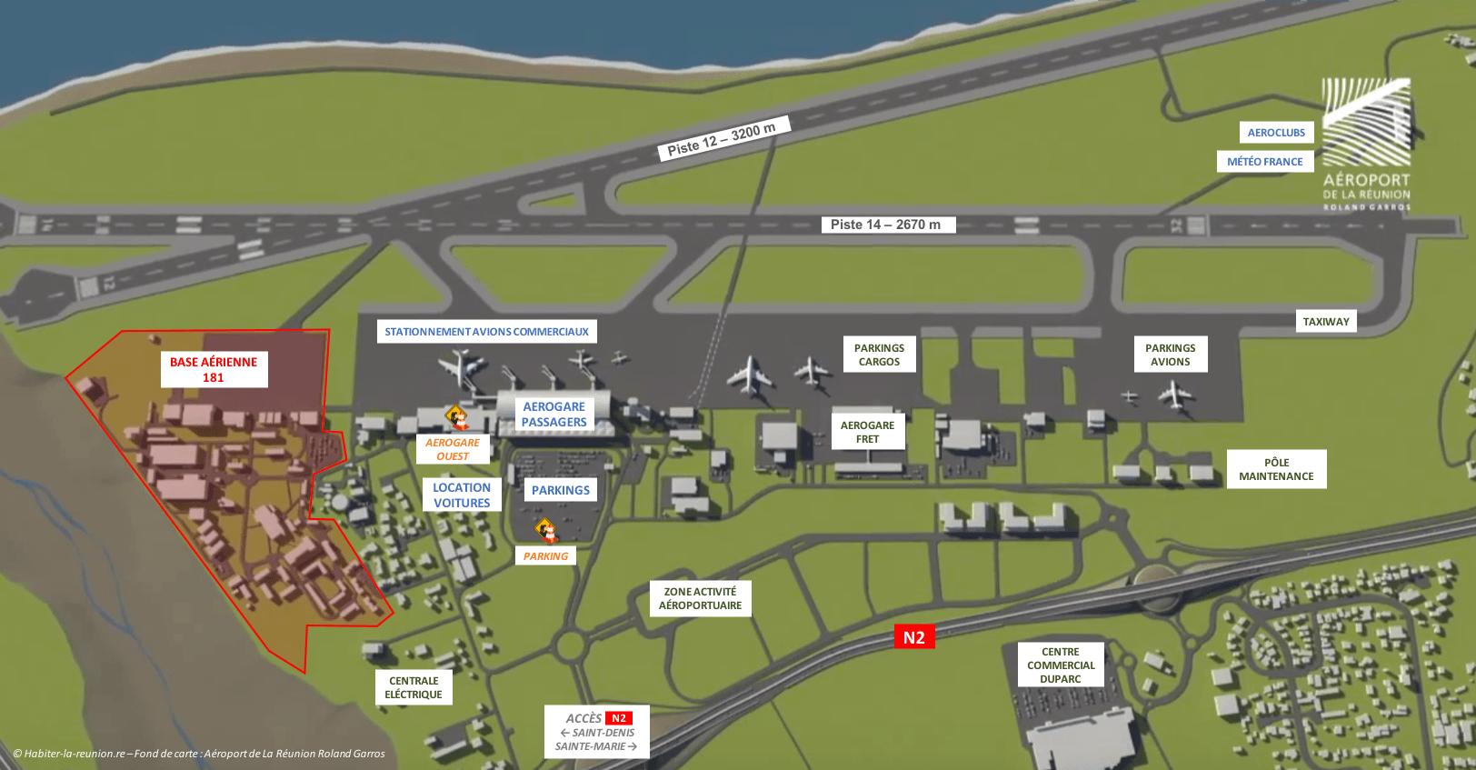 Aéroport De La Réunion Roland Garros Habiter La Réunion