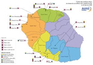 Carte-réseau-Atmo-Réunion-2018