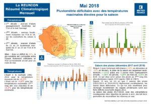 Bilan météo Réunion Mai 2018
