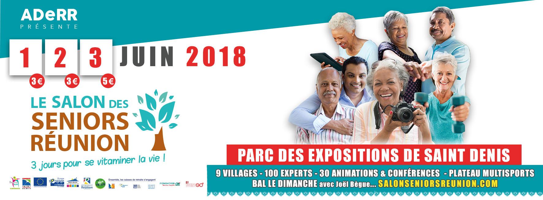 Salon des seniors 2018 du 1 au 3 juin habiter la r union for Salon des seniors paris