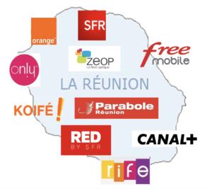 Internet et téléphonie mobile à La Réunion