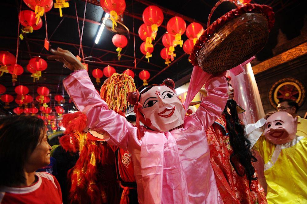Fêtes chinoises à La Réunion