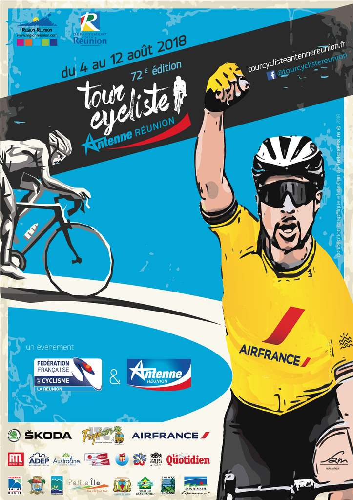Affiche-Tour-Cycliste-Antenne-Réunion-2018
