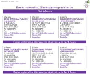 Ecoles-Réunion