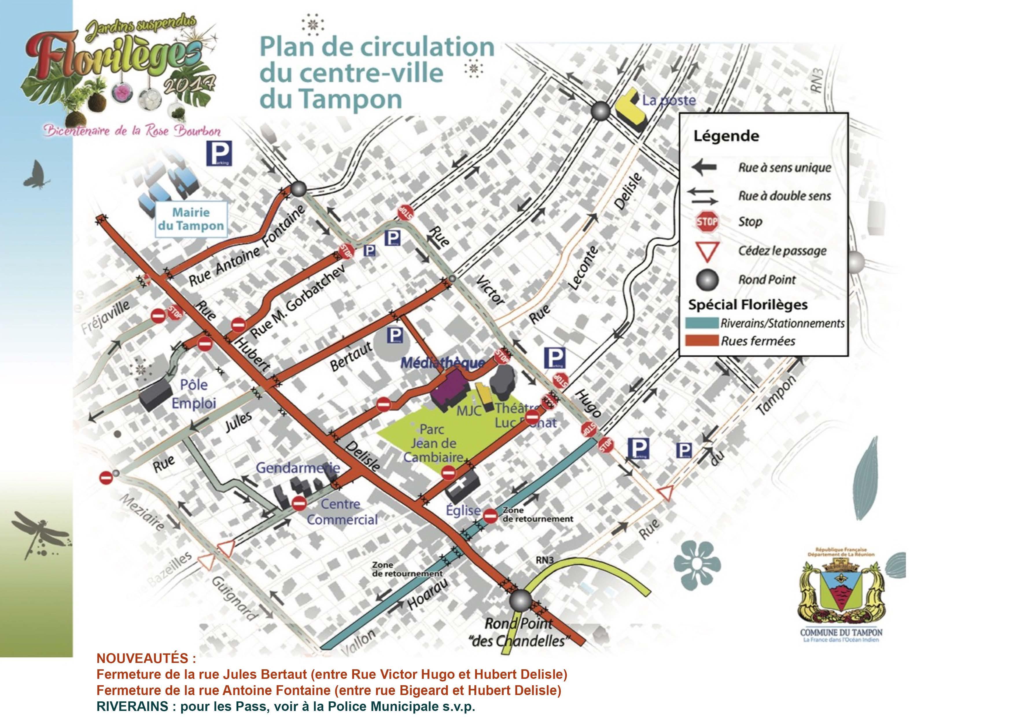 Plan Ville Le Tampon Reunion