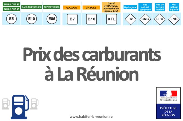 Prix-hydrocarbures-Réunion