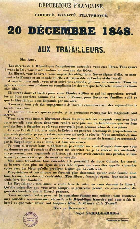 Proclamation-20-decembre-1848-Sarda-Garriga