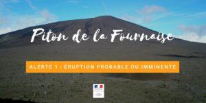 Piton de la Fournaise : Alerte 1