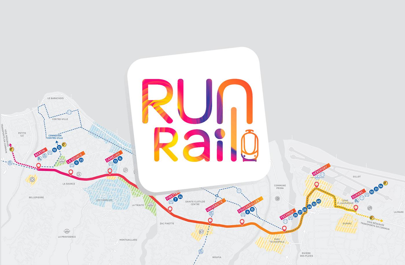 Run Rail, le nouveau transport public régional