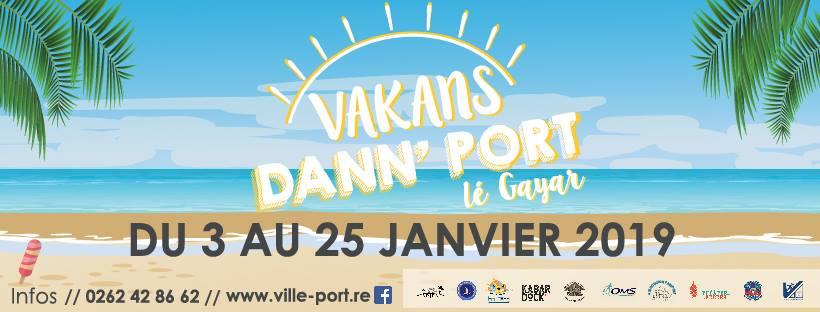 Bandeau-Vakans dann' Port 2019