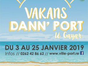 Vakans dann' Port 2019