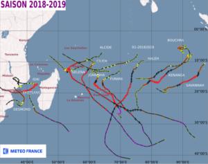 Activité cyclonique à La Réunion
