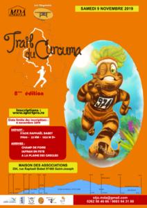 trail curcuma affiche