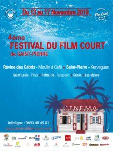 Affiche festival Film Court Reuniobn