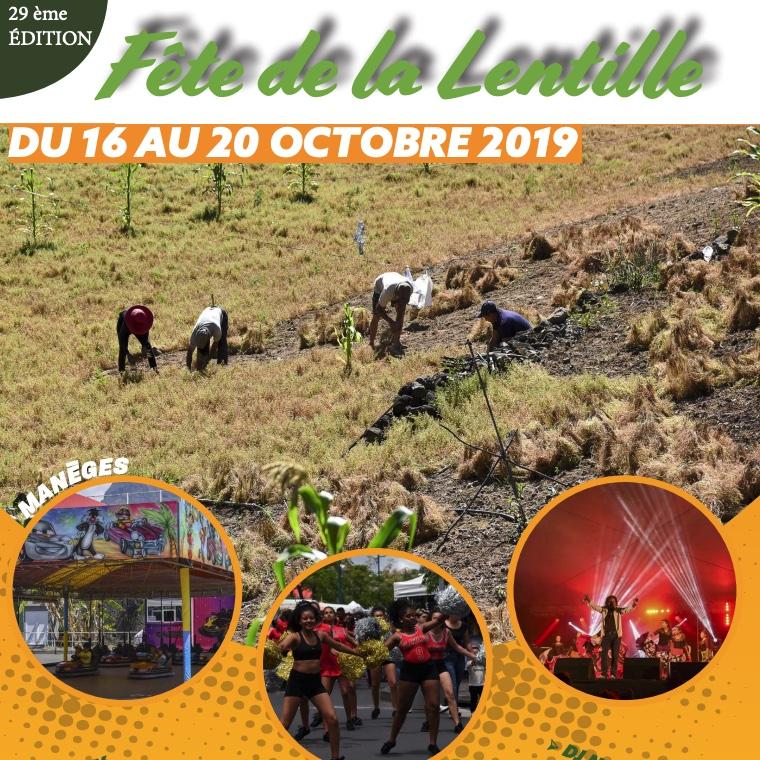 Fête de la Lentille 2019 à Cilaos