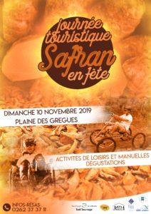 affiche fete safran 2019