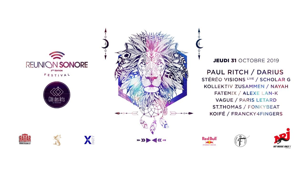 Réunion Sonore Festival Électro 3ème édition