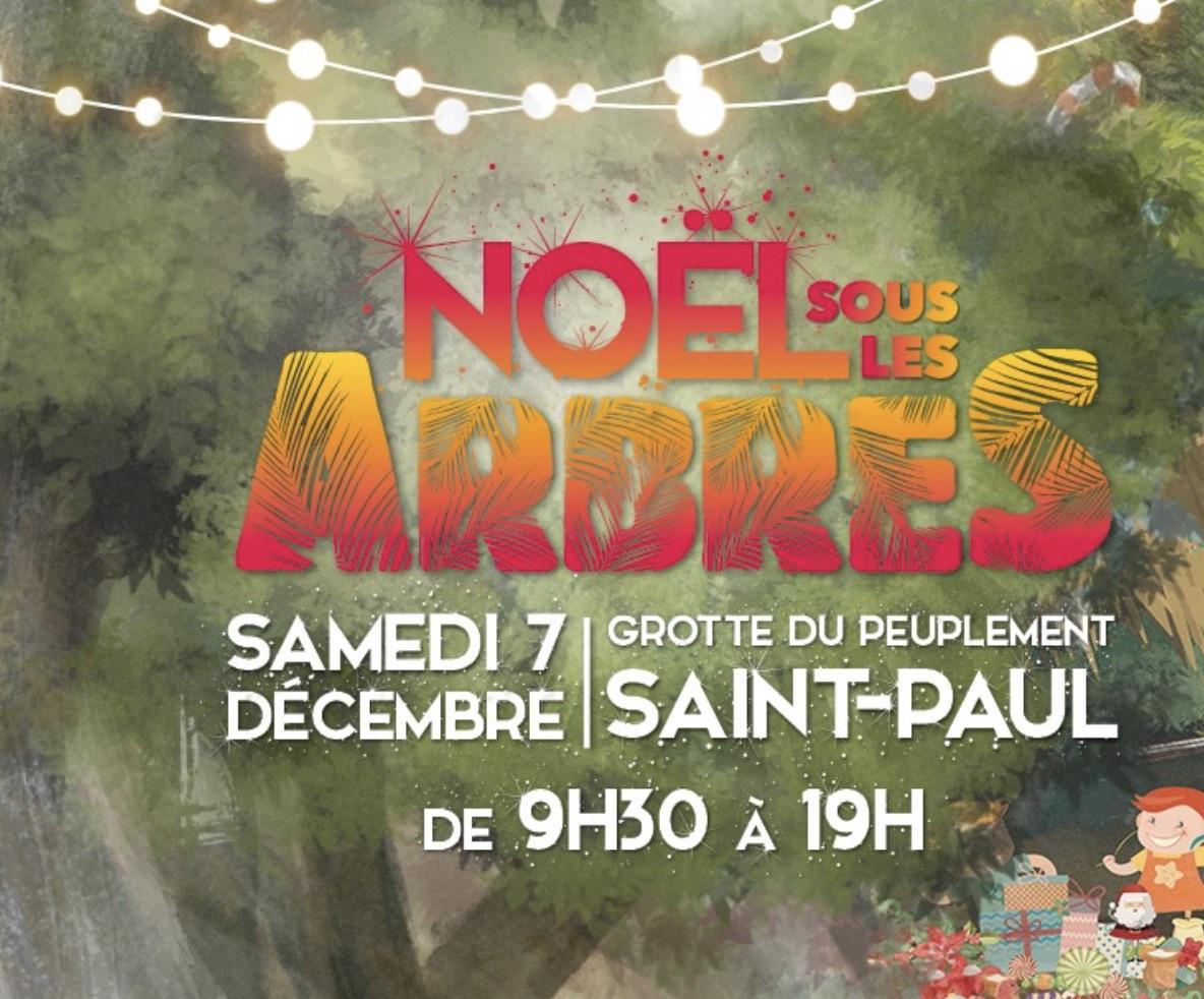 Noël sous les arbres à Saint-Paul