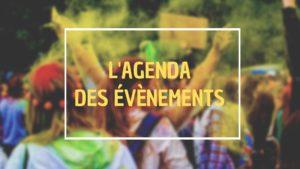 agenda des évènements réunion