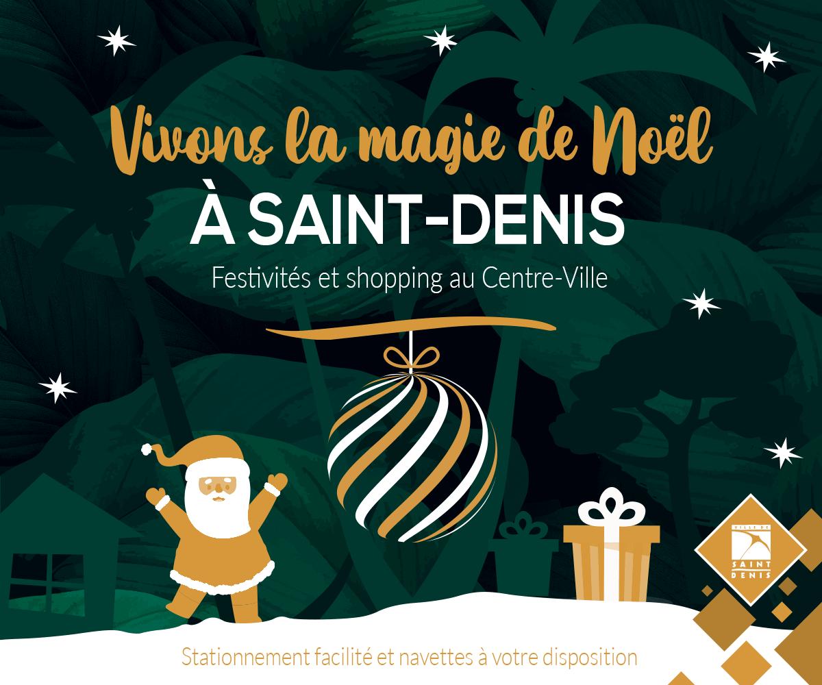 Vivons la magie de Noël à Saint-Denis