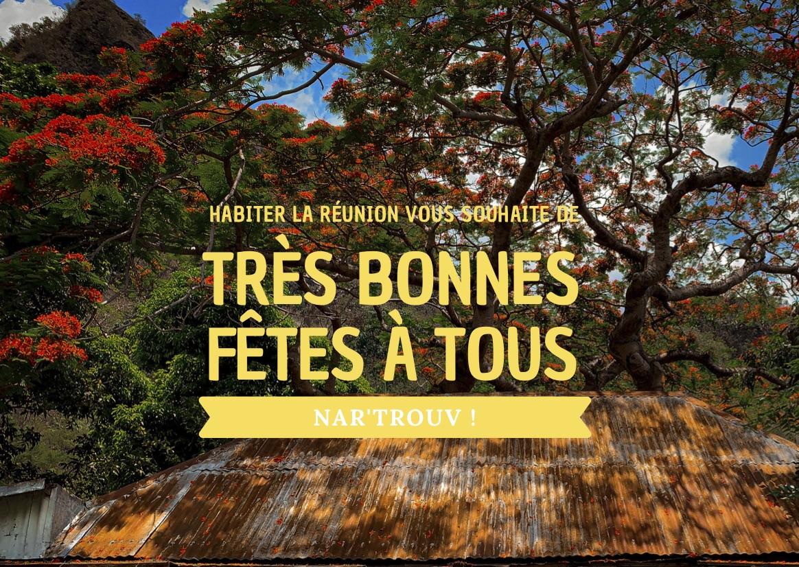 Joyeux Noël et meilleurs vœux La Réunion !