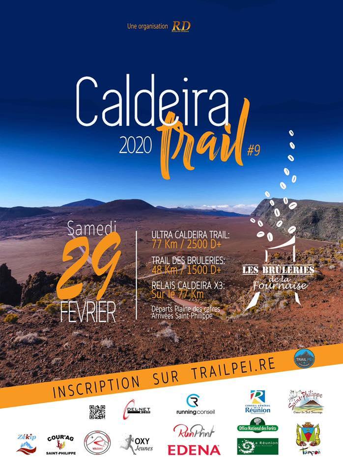 Caldeira Trail du Volcan à La Réunion